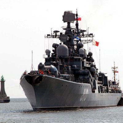 Det ryskta krigsfartyget Nastoichiviy