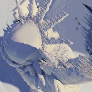 Scen från katastroffilmen The Day After Tomorrow där en kollaps av Amoc försatt New York i en ny istid.