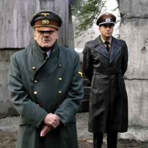 Skådespelaren Bruno Ganz som Hitler i filmen Undergången.