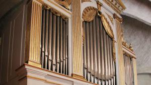 Orgel i Botkyrka kyrka.
