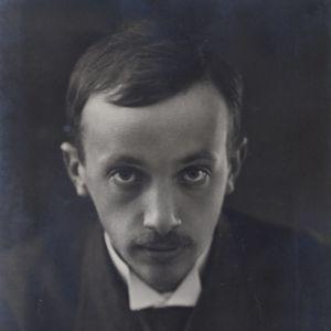Författaren R.R. Eklund i närbild.