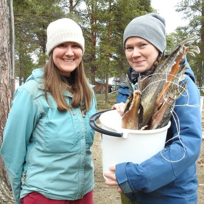Laura Korhonen ja Nanna Rytkönen