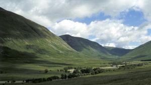 Grön dal i Skottland
