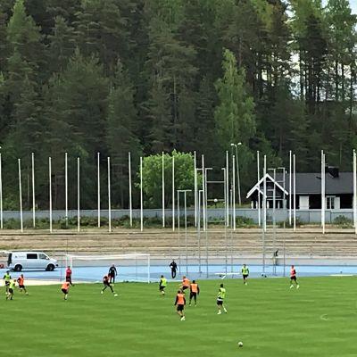 FC Lahden harjoitukset kesäkuussa 2020.