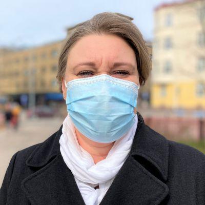 omavalmentaja Tanja-Tuulia Rinne työskentelee Lahden seudun työllisyyskuntakokeilussa