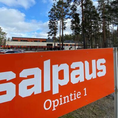 Koulutuskeskus Salpauksen Heinolan yksikkö huhtikuussa 2021.