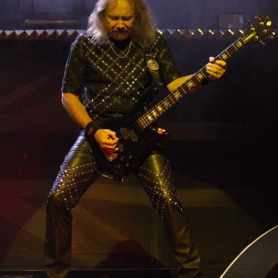 Ian Hill, basist i Judas Priest.