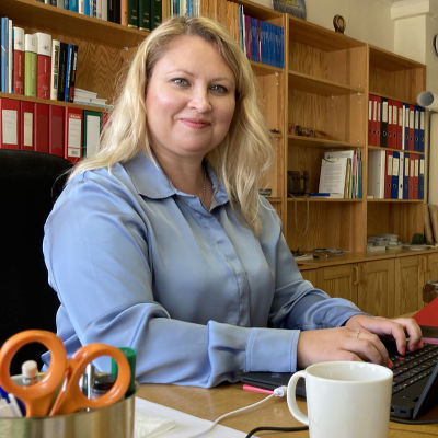 Kuvassa Lestijärven kunnanjohtaja Anne Kurkela