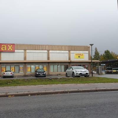 Byggmaxin Turun Itäharjussa sijaitseva myymälä.