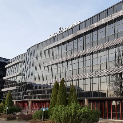 En campusbyggnad i Salo