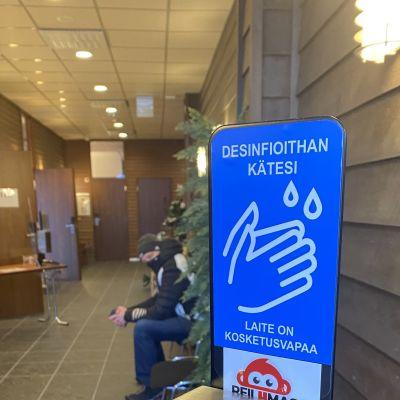 Ruka Nordic ja koronarajoitukset.