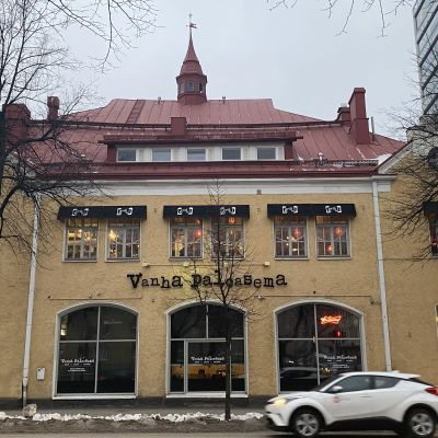 vanha paloasema Oulu