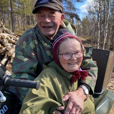 Elli ja Josef Guttorm, Kuolna, Utsjoki