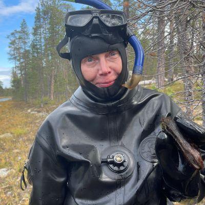 Raakkututkija Anja Veersalu.