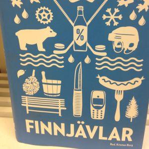 """Bild av boken """"Finnjävlar""""."""