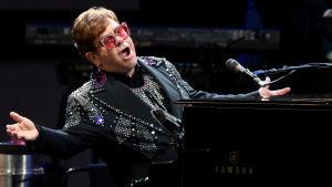 Elton John esiintyi joulukuussa 2019 Geelongissa, Australiassa.