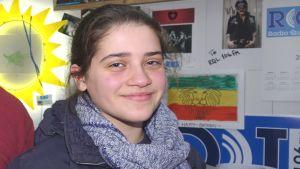Gaia Putrinom fungerar som radiostationens alltiallo