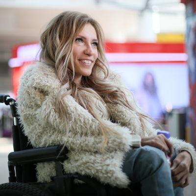 Julia Samojlova, Rysslands representant i Eurovisionen som bannlystes från Ukraina