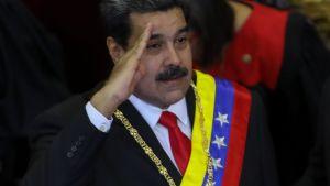Nicolás Maduro den 24 januari 2019 i Caracas