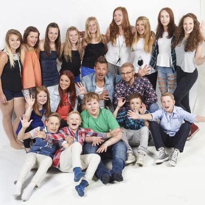 MGP2014 finalister och programledare