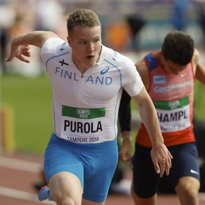 Samuel Purola springer, JVM 2018.