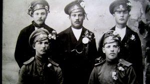 Lettiska skyttar år 1915