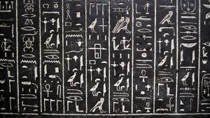 Egyptiläisiä hieroglyfejä