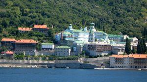 Sankt Panteleimons kloster i Athos.