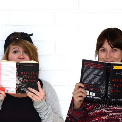 My och Anka har läst Gone Girl.