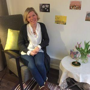 Jonna Winberg jobbar på Krisjouren för unga.