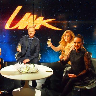 UMK17-esikatseluohjelma. Esikatseluraadissa ovat myös mukana Eini, Jaana Pelkonen, Tuija Pehkonen ja Suvi Aalto.