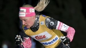 Anne Kyllönen i finska cupen.