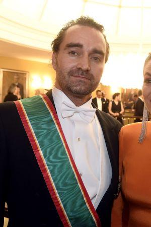 Dykaren Mikko Paasi med sin fru Krista Paasi. Mikko Paasi deltog i räddningsoperationen i en grotta i Thailand.