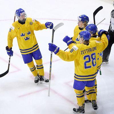 Sveriges juniorlandslag.