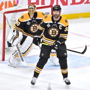 Chara och Rask är viktiga för Boston Bruins.