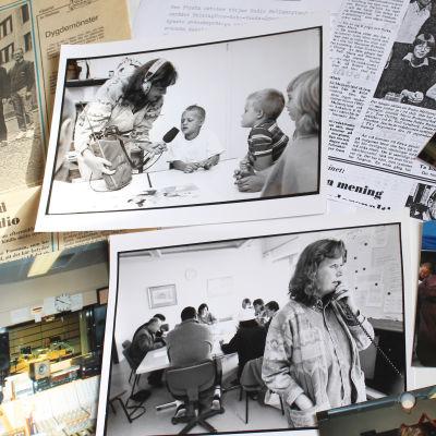 Radio Mellannyland fyller 40 år, bilder ur arkivet