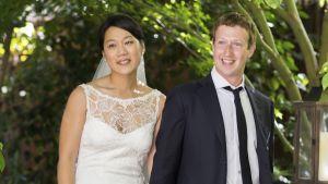 Mark Zuckerberg och Priscilla Chan gifte sig