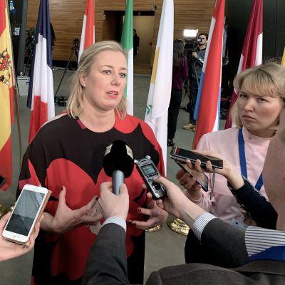 Jutta Urpilainen, EU:n kansainvälisistä kumppanuuksista vastaava komissaari.