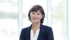 Porträtt på Jannica Fagerholm