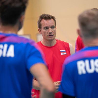 Tuomas Sammelvuo on valmentanut Venäjän lentopallomaajoukkuetta toukuusta alkaen.