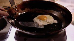Ägg i stekpanna.