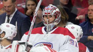 Montreal Canadiens målvakt Carey Price.
