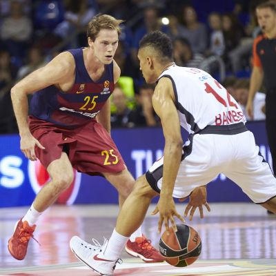 Petteri Koponen spelar för Barcelona