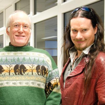 Don Rosa och Tuomas Holopainen
