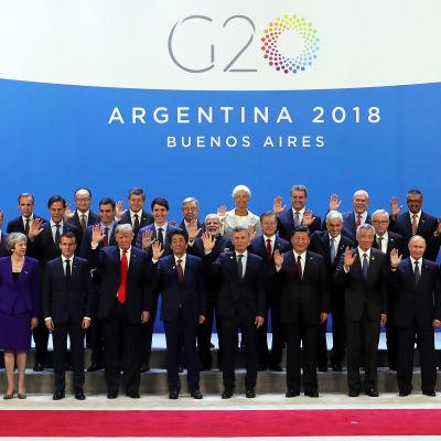 G20 mötet i Argentina.