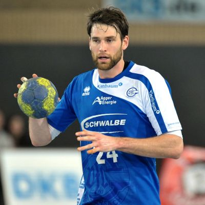 Fredrik Larsson i VfL Gummersbachs tröja säsongen 2012–13.