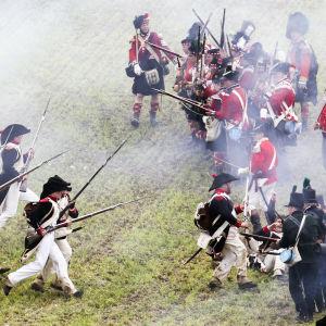 Rekonstruktion av slaget vid Waterloo