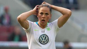 Sara Björk Gunnarsdottir spelar för Wolfsburg.