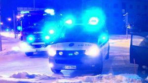polisbil och brandbil