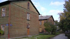 Bostadshus i Kopli.